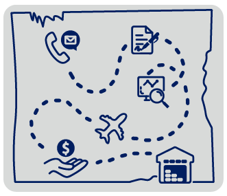 map to selling your storage facility